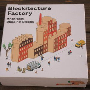 Areaware Blockitecture Factory Home School Blocks